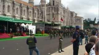 Dia de Portugal 2012, desfile da BRR,COMANDOS,RANGERS E PÁRAQUEDISTAS.mp4