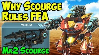 War Robots - Why Scourge Dominates Free For All - Mk2 WR Gameplay width=