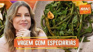 Vagem refogada com especiarias   Rita Lobo   Cozinha Prática