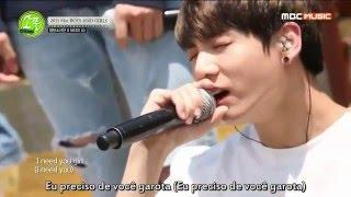 BTS - I NEED U @Picnic Live MBC [Legendado PT-BR]