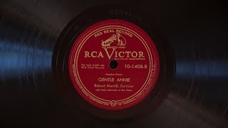 Gentle Annie • Robert Merrill (Victrola Credenza)