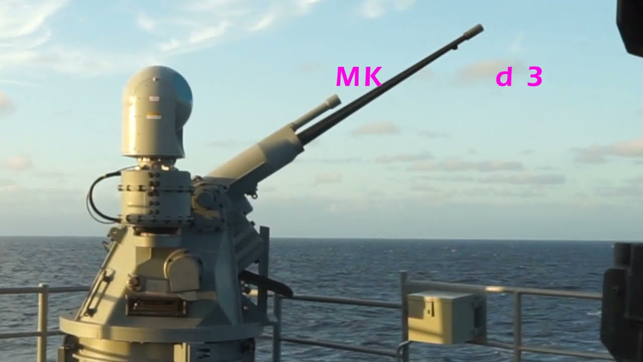 US Navy – MK 38 Machine Gun System Packs a Punch