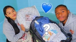 WHAT'S INSIDE THE GOLDJUICE HOSPITAL BAG FOR GIVING BIRTH?