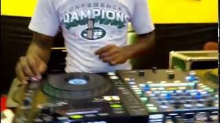 DJ PUSHCAR on some short scratch samples