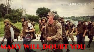 """Marine Corps Motivational Video """"Hold Strong""""-Rob Bailey and the Hustle Standard"""