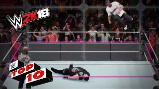 WWE 2k18 Top movimientos aéreos