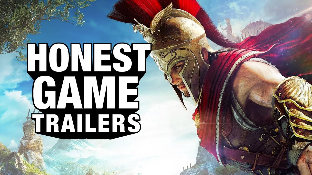 Honest Game Trailers' Take On Assassin's Creed Odyssey Is A Greek Tragedy