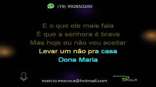 Gabi Fratucello e Jéssica Ribeiro   Dona Maria (Resposta) - Karaokê ( completo )