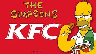 The Simpsons - KFC Commercials - Canada Only (1993)