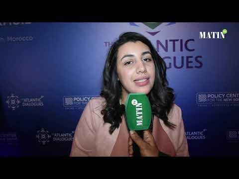 Video : Atlantic Dialogues intègre les jeunes leaders dans le débat