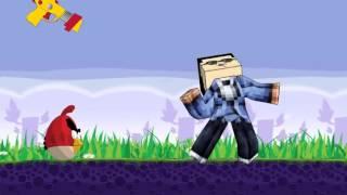 psy hulkminecraft versionvs angry birds mashup parody video spoof