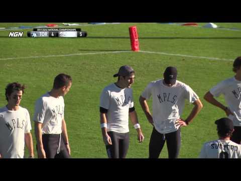 Video Thumbnail: 2014 National Championships, Men's Pre-Quarter: Toronto GOAT vs. Minneapolis Sub Zero