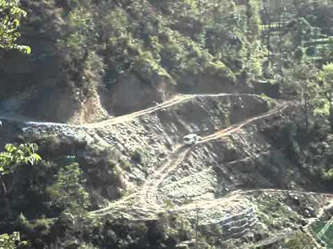nepal's rural roads