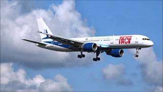 TACV Cabo Verde Airlines arrival in Providence