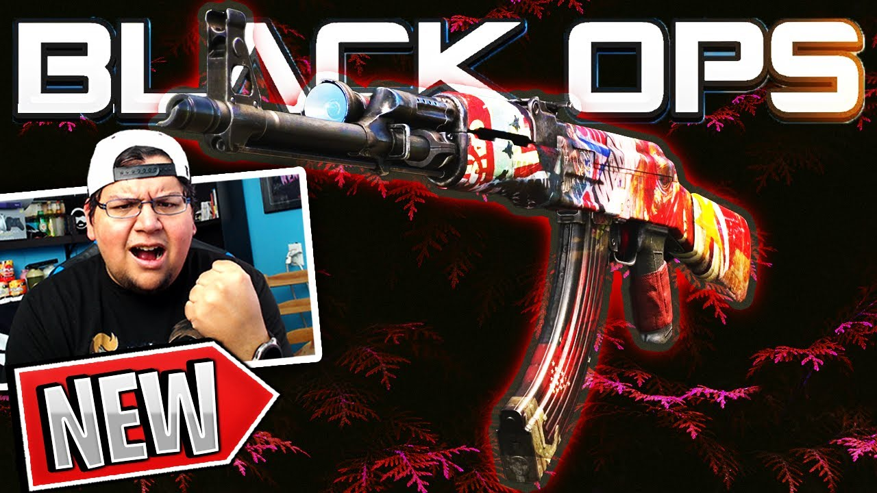 "OGXRAYZ - THE ""IRON CURTAIN"" AK47 BLUEPRINT SLAP IN BLACK OPS COLD WAR!"