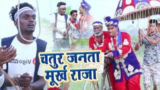 चतुर जनता मुर्ख राजा   krishna zaik Vigo video   krishna zaik comedy full scin  comedy  