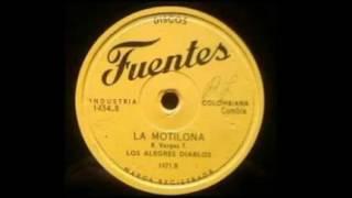 LA MONTILONA-LOS ALEGRES DIABLOS/78RPM