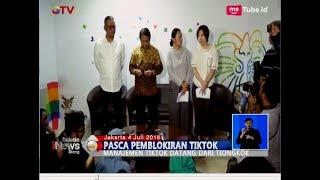 Penjelasan Manajemen Tik Tok Kepada Kominfo Pasca Diblokir - BIS 05/07