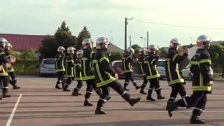 Bombeiros de Nuits-Saint-Georges: Zumba Flash Mob