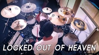 Bruno Mars - Locked Out Of Heaven - DRUM COVER [GoPro + HQ Sound]