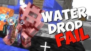 Haciendo water drop con suscriptores!
