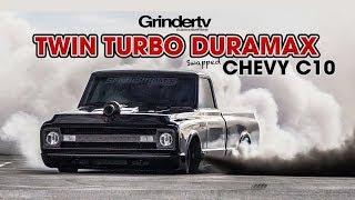 Twin Turbo Duramax Chevy C10