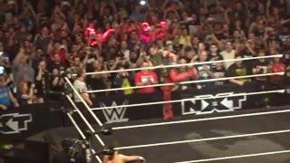 NXT TakerOver Dallas - Shinsuke Nakamura Entrance Live