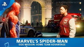 Marvel's Spider-Man (PS4) - Side Mission - Home Team Advantage