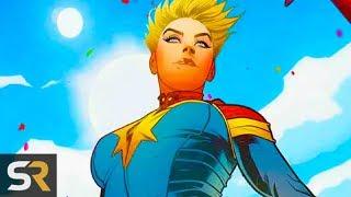 The Origins Of Captain Marvel Explained width=