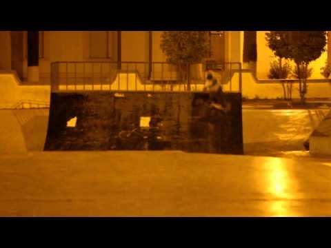 Skate Park Safi Morocco 12 September 2012.  360 backside