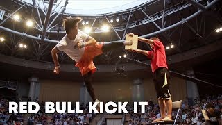 One-on-One Tricking Battle - Red Bull Kick It 2014 width=
