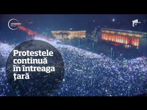 Observator TV 07/02/2017 - Ştirile zilei
