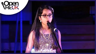 EYE OF THE NEEDLE – SIA performed by MAHNOOR AHMED at Open Mic UK singing contest