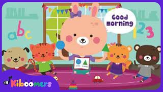 Good Morning Song | Morning Songs for Kids | Circle Time | The Kiboomers