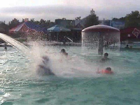 "Sudak aquapark ""Vodnij mir"" (Water world), Crimea, Ukraine"