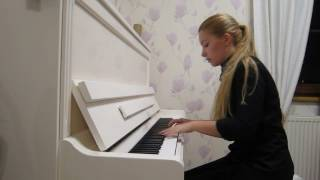Metallica - Nothing Else Matters - piano cover by Anna