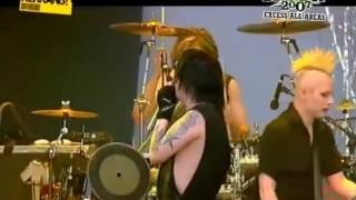 Marilyn Manson attack on Tim Skold!!!
