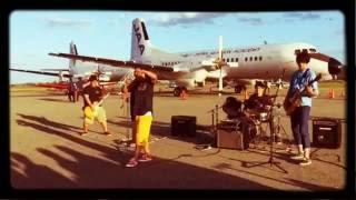 日本航空学園 航空祭2016 TRACE/WANIMA SHOW-EACH ゲリラライブ  WANIMAコピーバンド