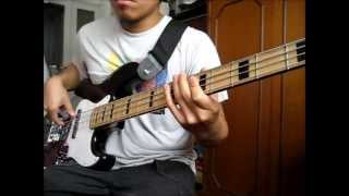 Original Fire by Audioslave Bass cover