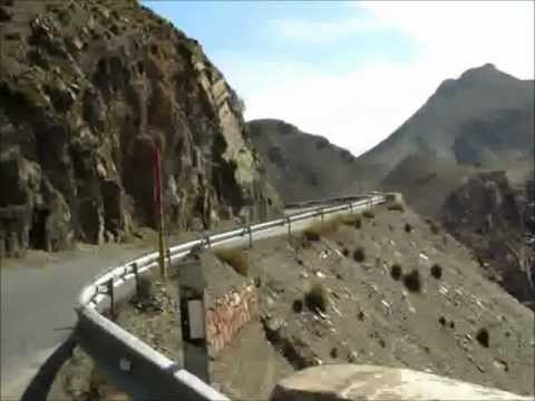 Driving Toward the Tizi n' Tichka Pass – Atlas Mountains – Morocco