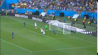 Germany 1 - 0 Argentina Final Full Highlights ( '22 ET - Mario Gotze ) 13 - 07 - 2014 width=