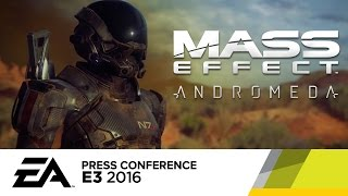 Mass Effect Andromeda Behind The Scenes Reveal Trailer - E3 2016 EA Press Conference