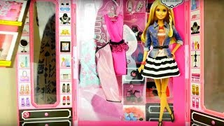 Barbie. Dolls for Girls. Barbie Closet. Dress up Games.