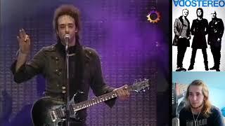 Soda Stereo - De Musica Ligera REACTION!!