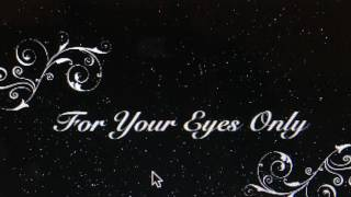 For Your Eyes Only (James Bond) (Sheena Easton cover)