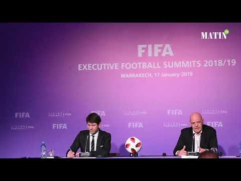 Video : Sommets exécutifs de la FIFA : Les principales annonces de Gianni Infantino à Marrakech
