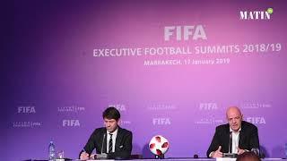 Sommets exécutifs de la FIFA : Les principales annonces de Gianni Infantino à Marrakech