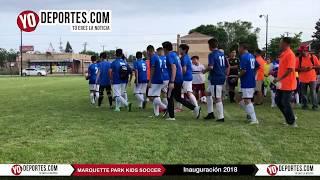 Marquette Park Kids Soccer Opening Inauguración 2018 en Chicago