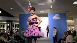 Natalia Stoa rocks the runway at the Nordstrom Spring Fashion Show