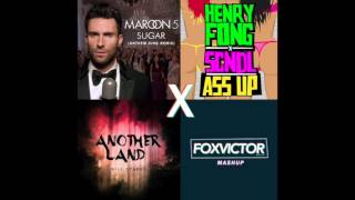 Maroon 5 vs Will Sparks vs Henry Fong x SCNDL - Sugar Land Ass Up (FOXVICTOR Mashup)